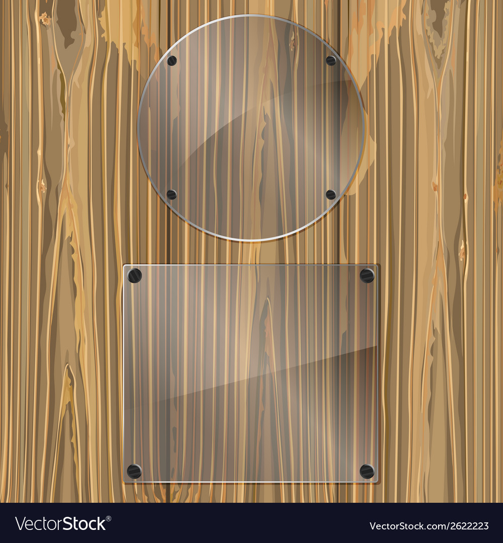 Glass on a wood vector | Price: 1 Credit (USD $1)