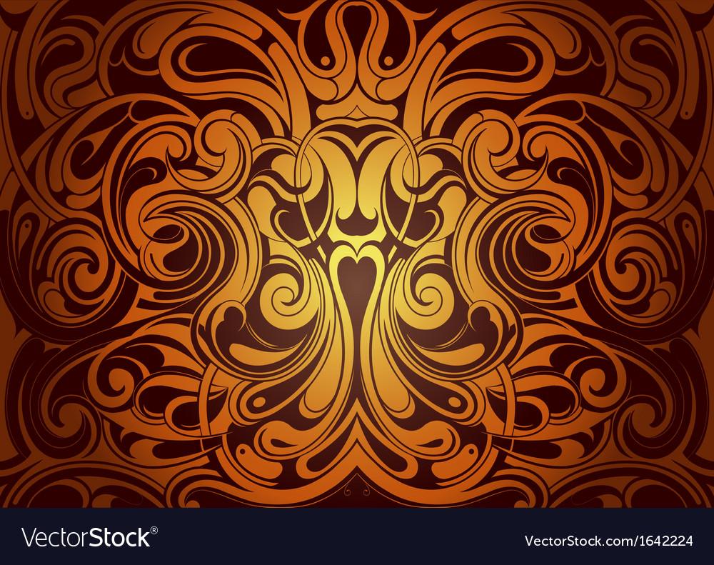 Mystical backdrop ornament vector | Price: 1 Credit (USD $1)