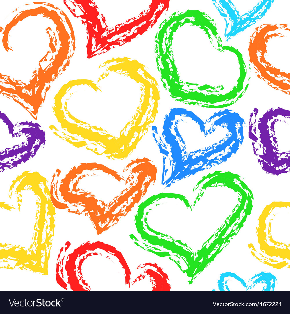 Texture of hearts vector   Price: 1 Credit (USD $1)