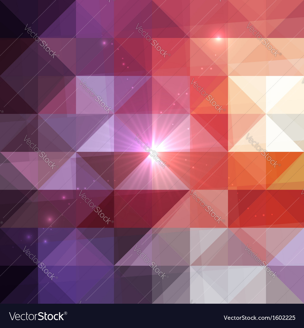Abstract geometry triangles shining pattern vector | Price: 1 Credit (USD $1)
