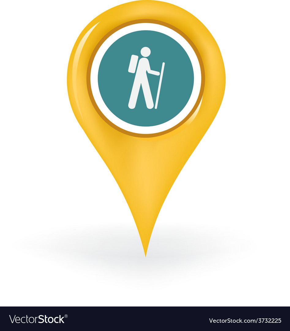 Hiking location vector | Price: 1 Credit (USD $1)