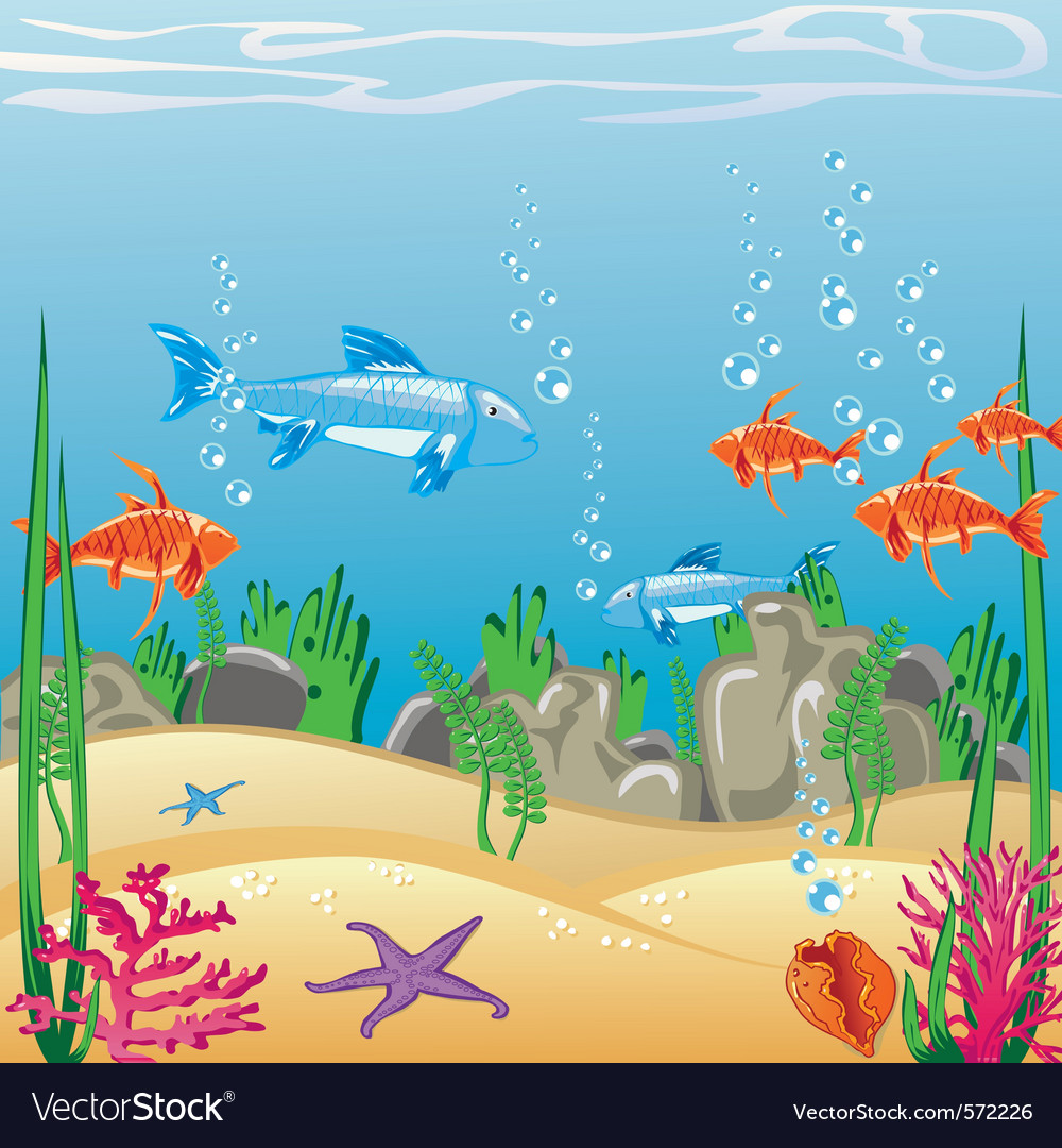 Underwater vector | Price: 1 Credit (USD $1)
