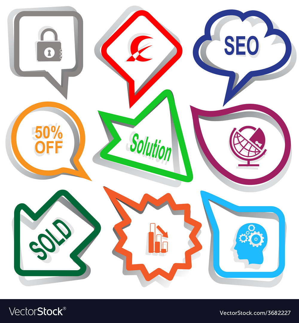 Closed lock monetary sign seo 50 off solution vector | Price: 1 Credit (USD $1)