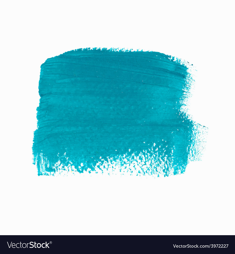 Turquoise acrylic paint banner vector | Price: 1 Credit (USD $1)