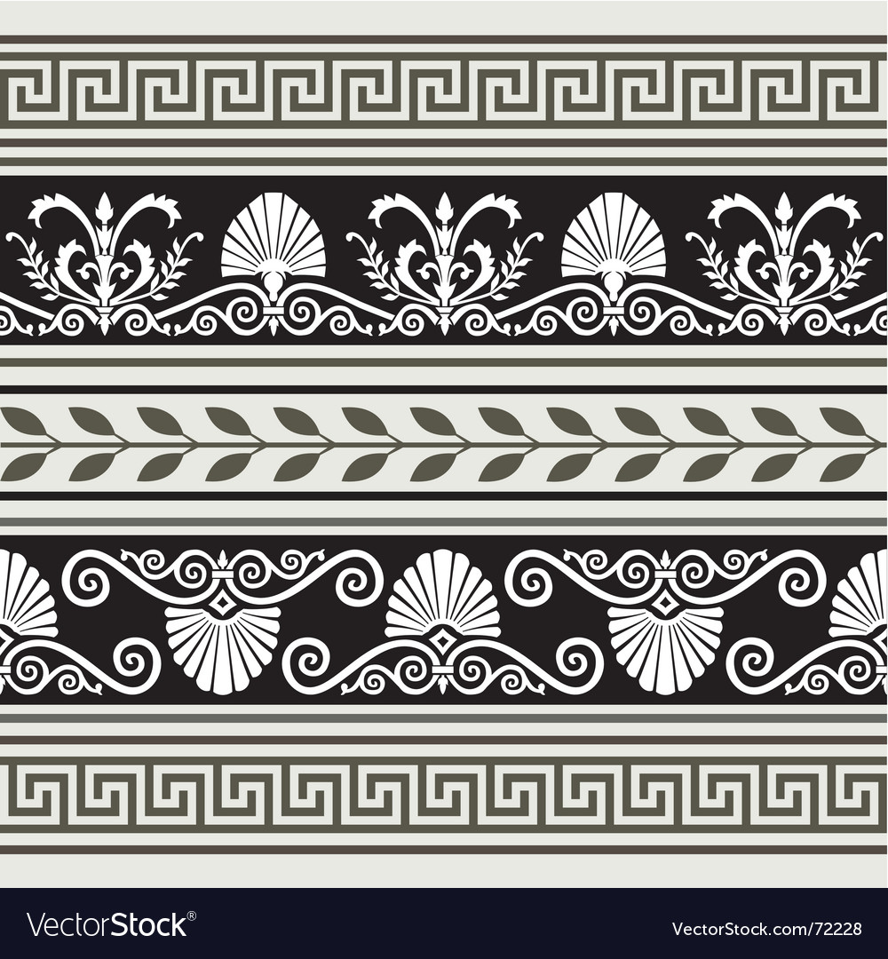 Antique borders vector | Price: 1 Credit (USD $1)