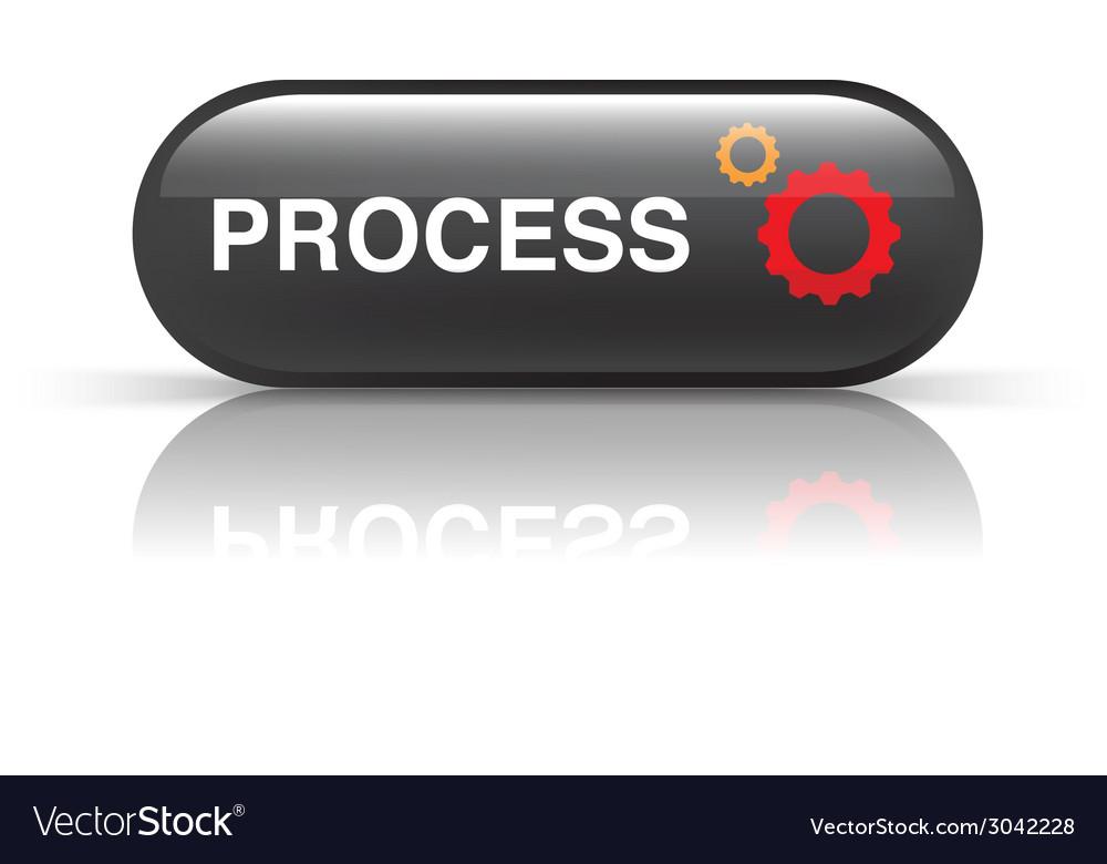Process icon vector | Price: 1 Credit (USD $1)