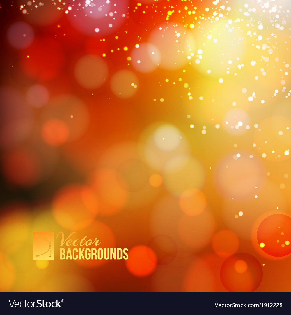 Yellow shine background vector | Price: 1 Credit (USD $1)