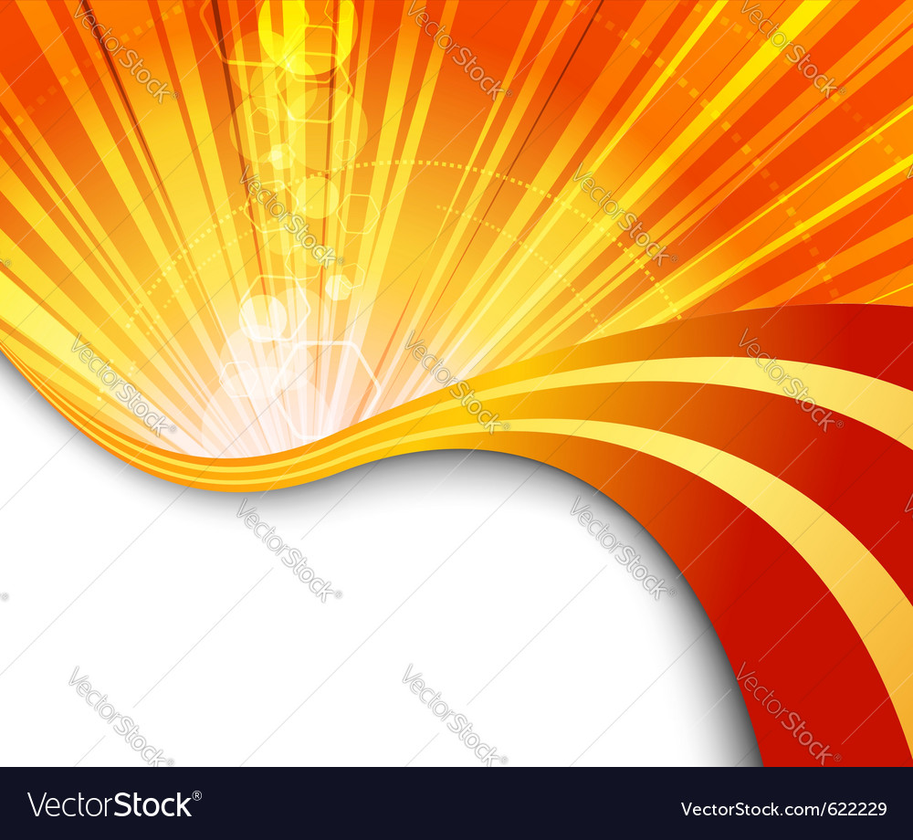Sunburst flaring vector | Price: 1 Credit (USD $1)