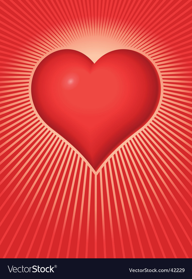 Valentine heart vector | Price: 1 Credit (USD $1)