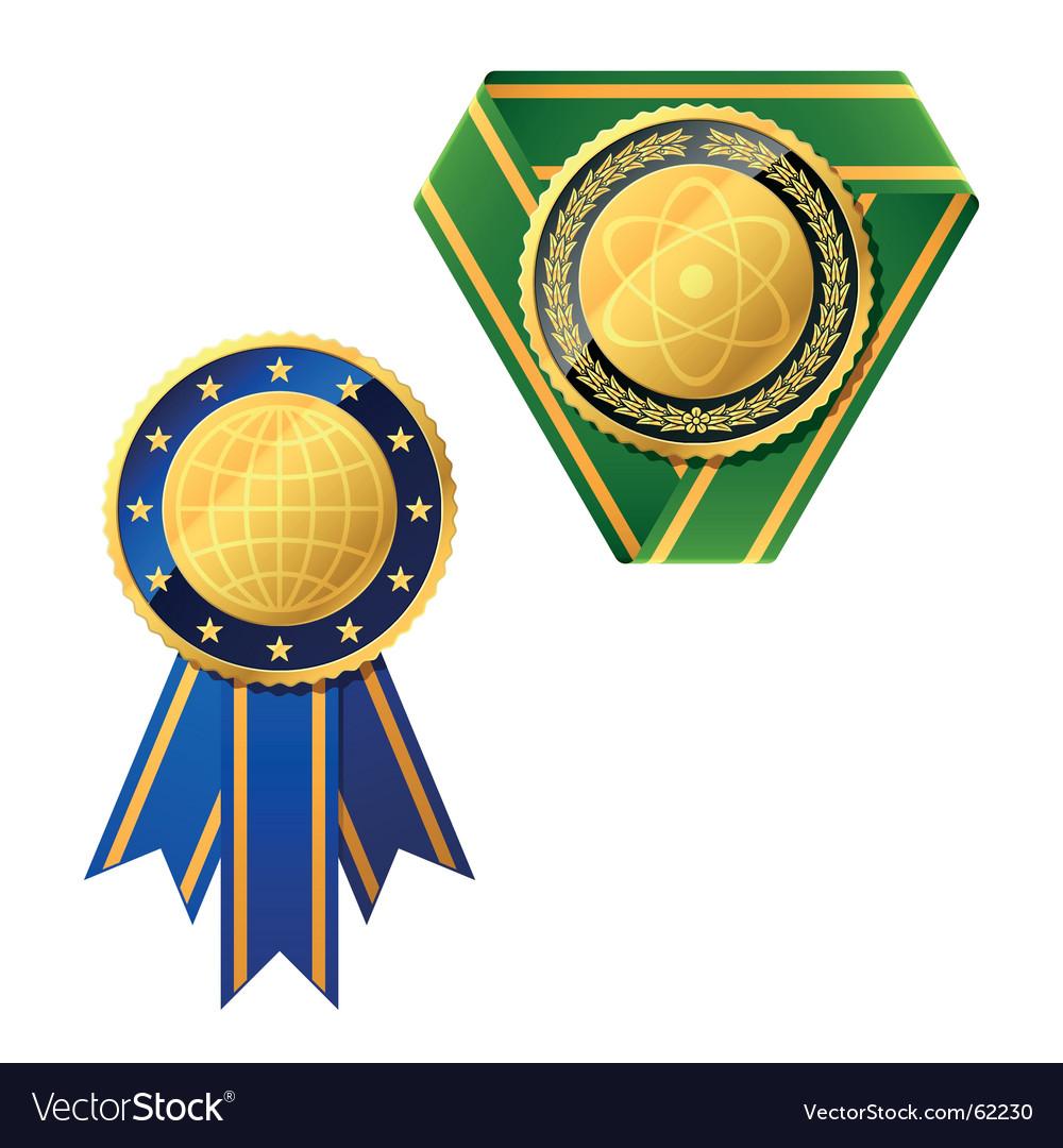Badges vector | Price: 1 Credit (USD $1)