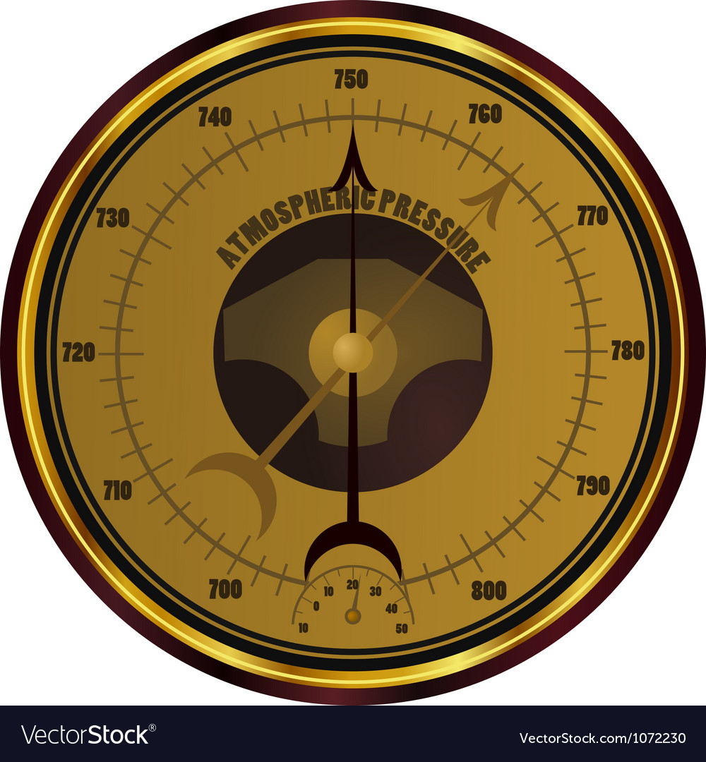 Barometer eps10 vector | Price: 1 Credit (USD $1)