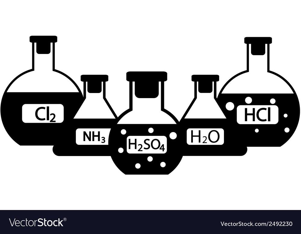 Chemicals vector | Price: 1 Credit (USD $1)