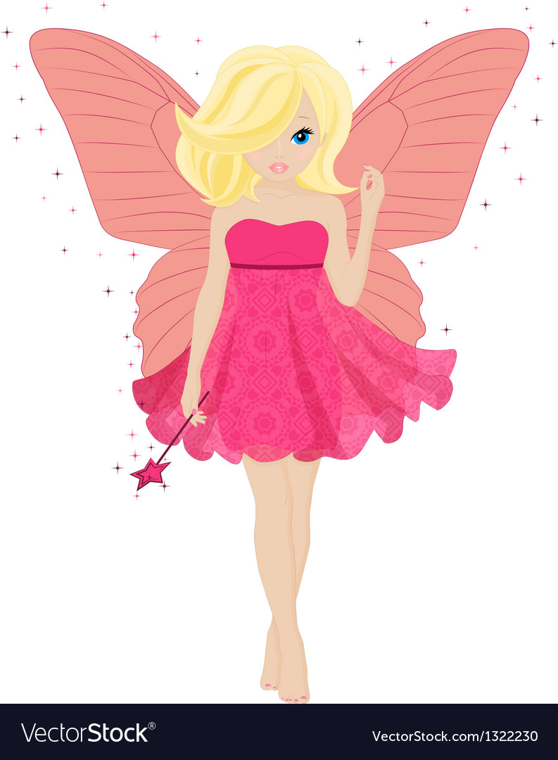 Magical little fairy vector | Price: 3 Credit (USD $3)