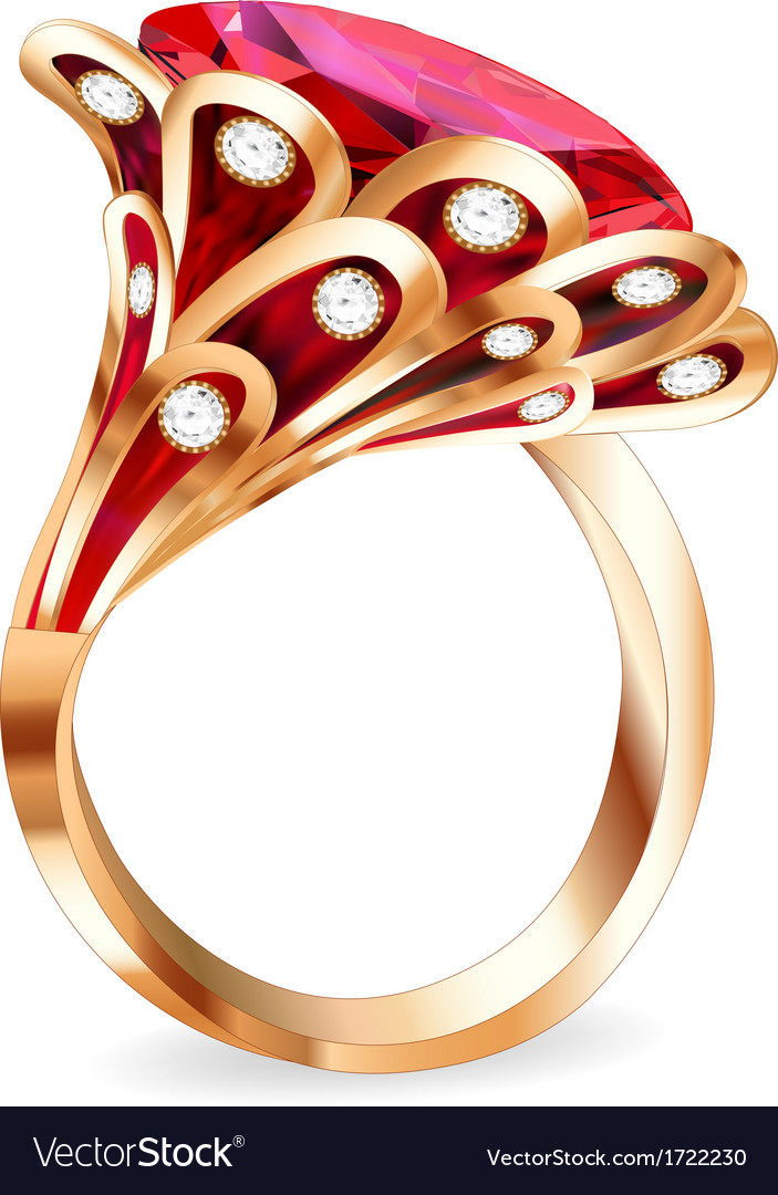 Piece of jewelry vector | Price: 1 Credit (USD $1)