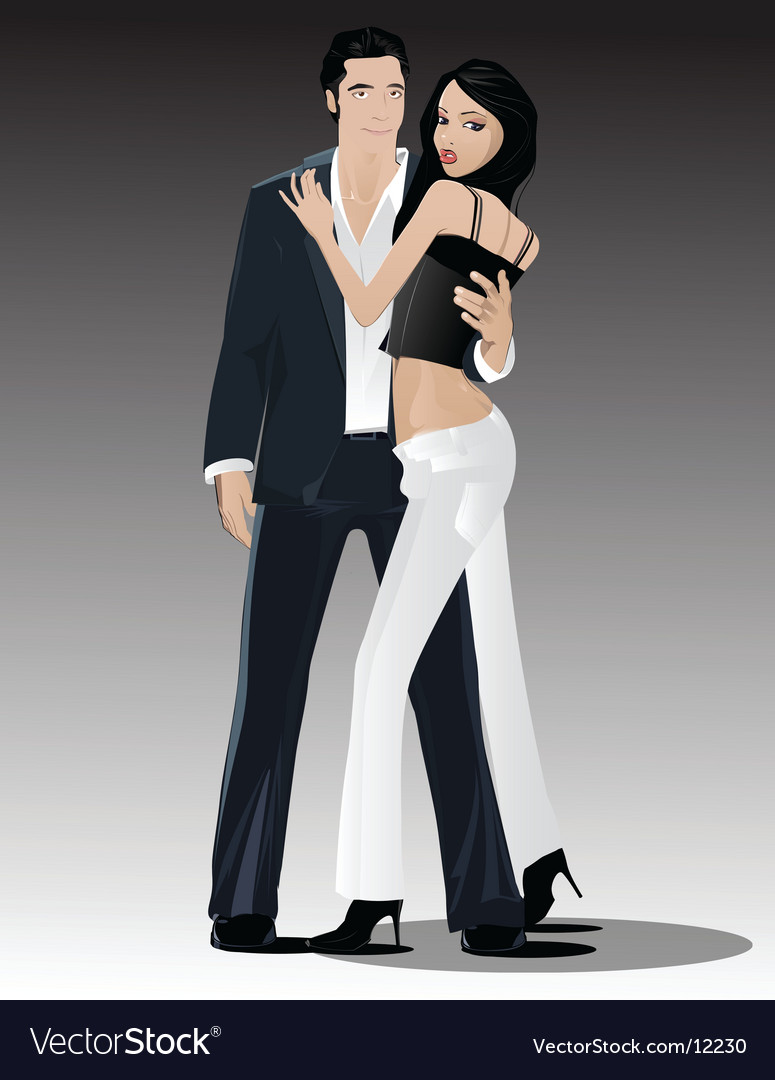 Sexy couple vector | Price: 5 Credit (USD $5)