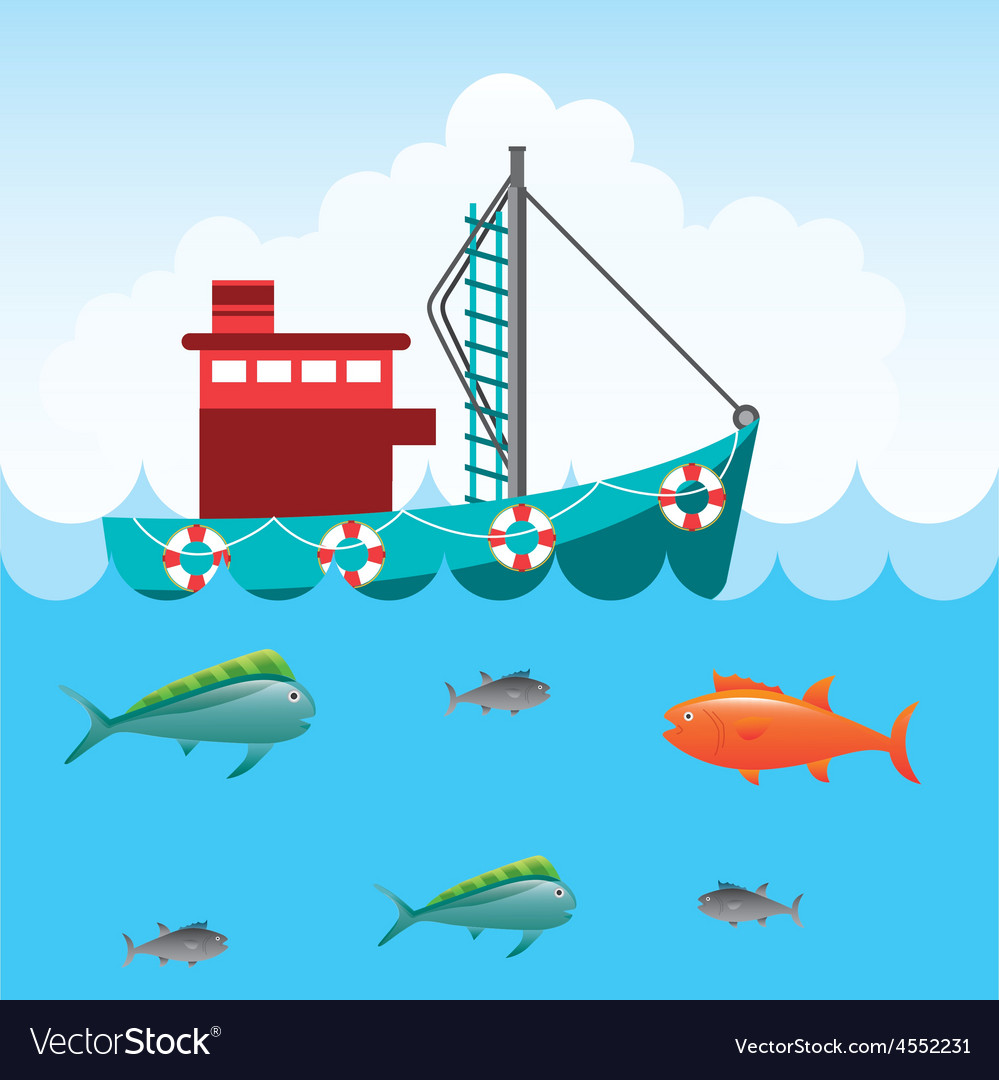 Fishing tournament vector | Price: 1 Credit (USD $1)