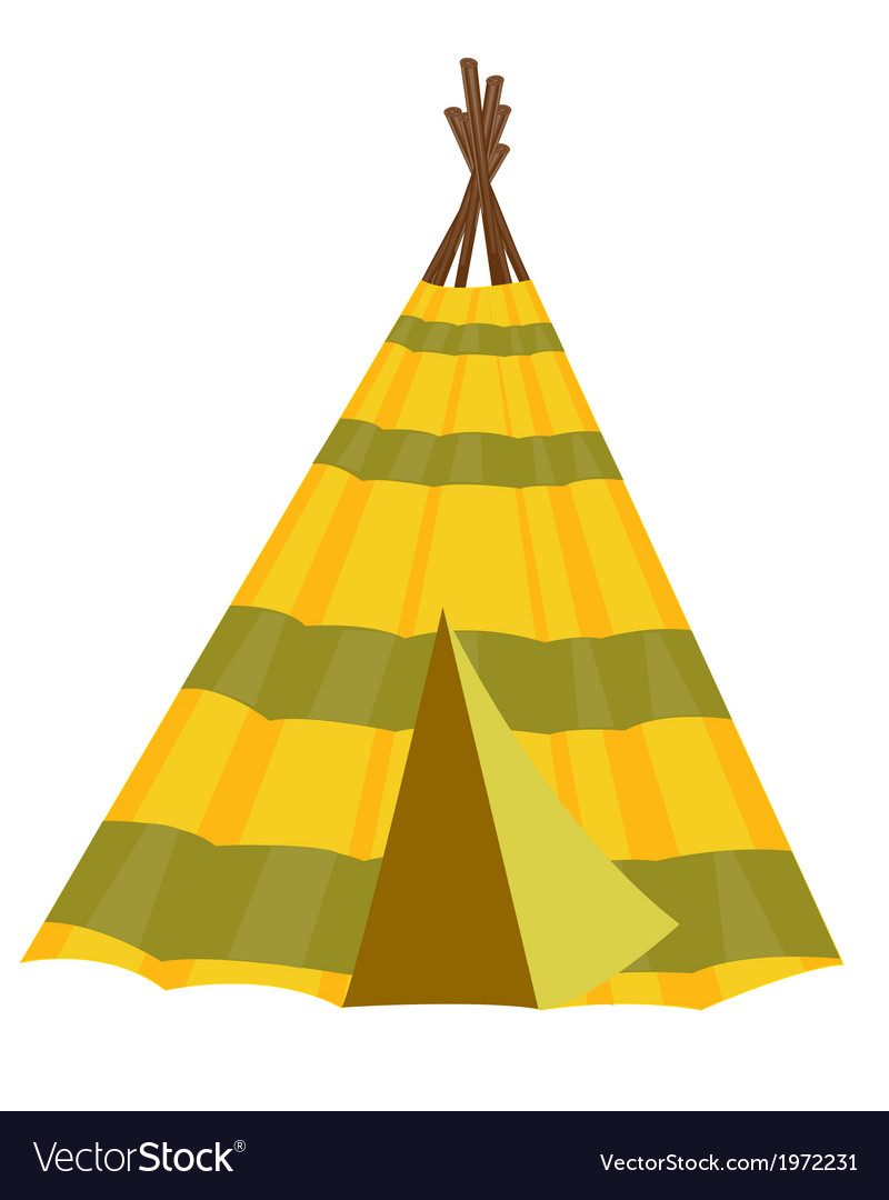 Home wigwam vector | Price: 1 Credit (USD $1)