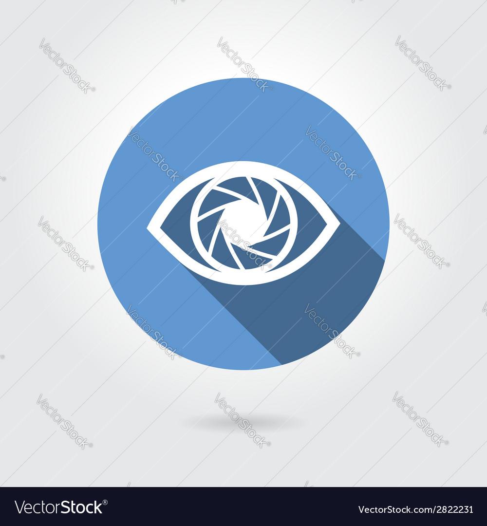 Icon eye vector | Price: 1 Credit (USD $1)