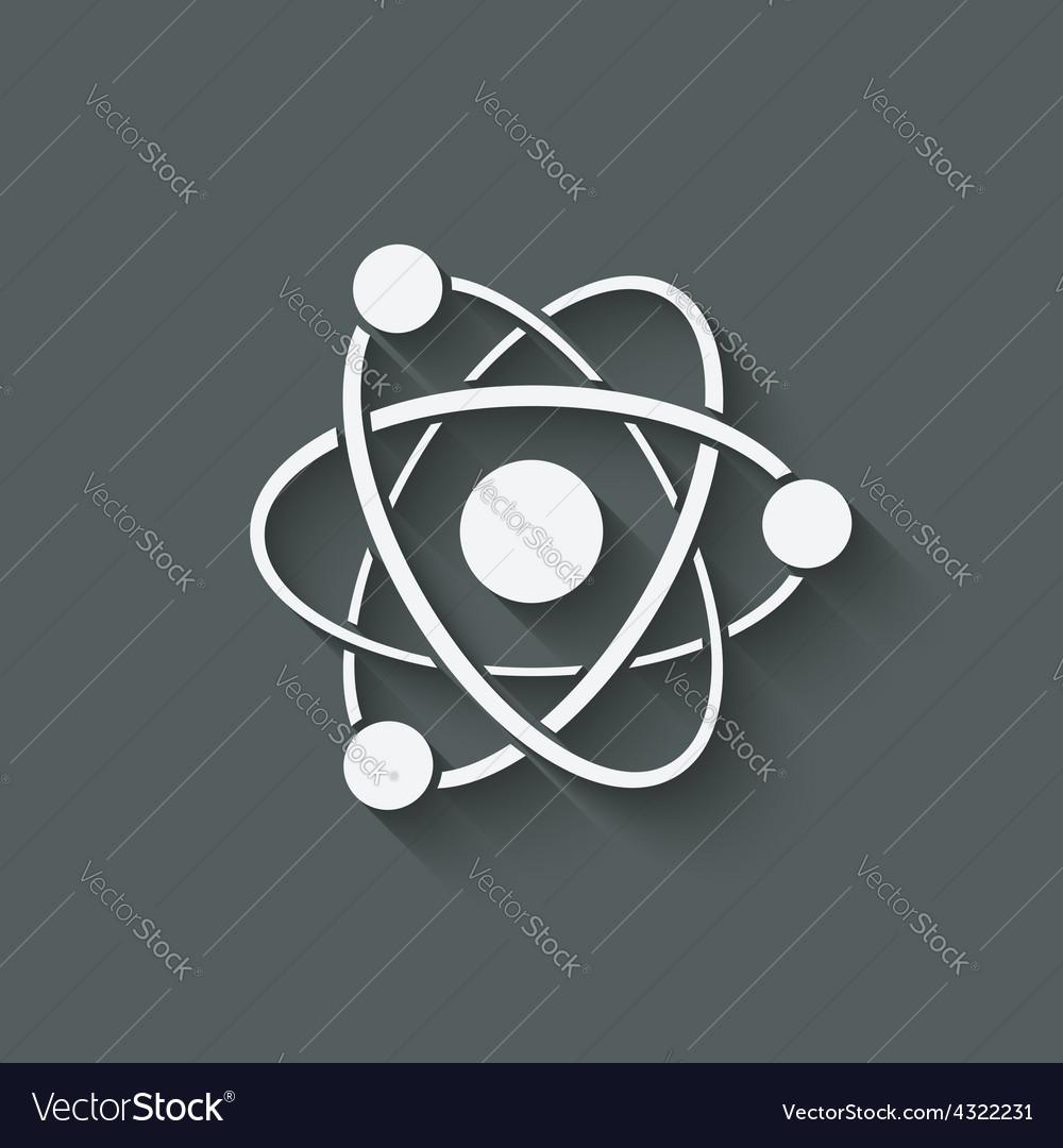 Molecule atom symbol vector | Price: 1 Credit (USD $1)