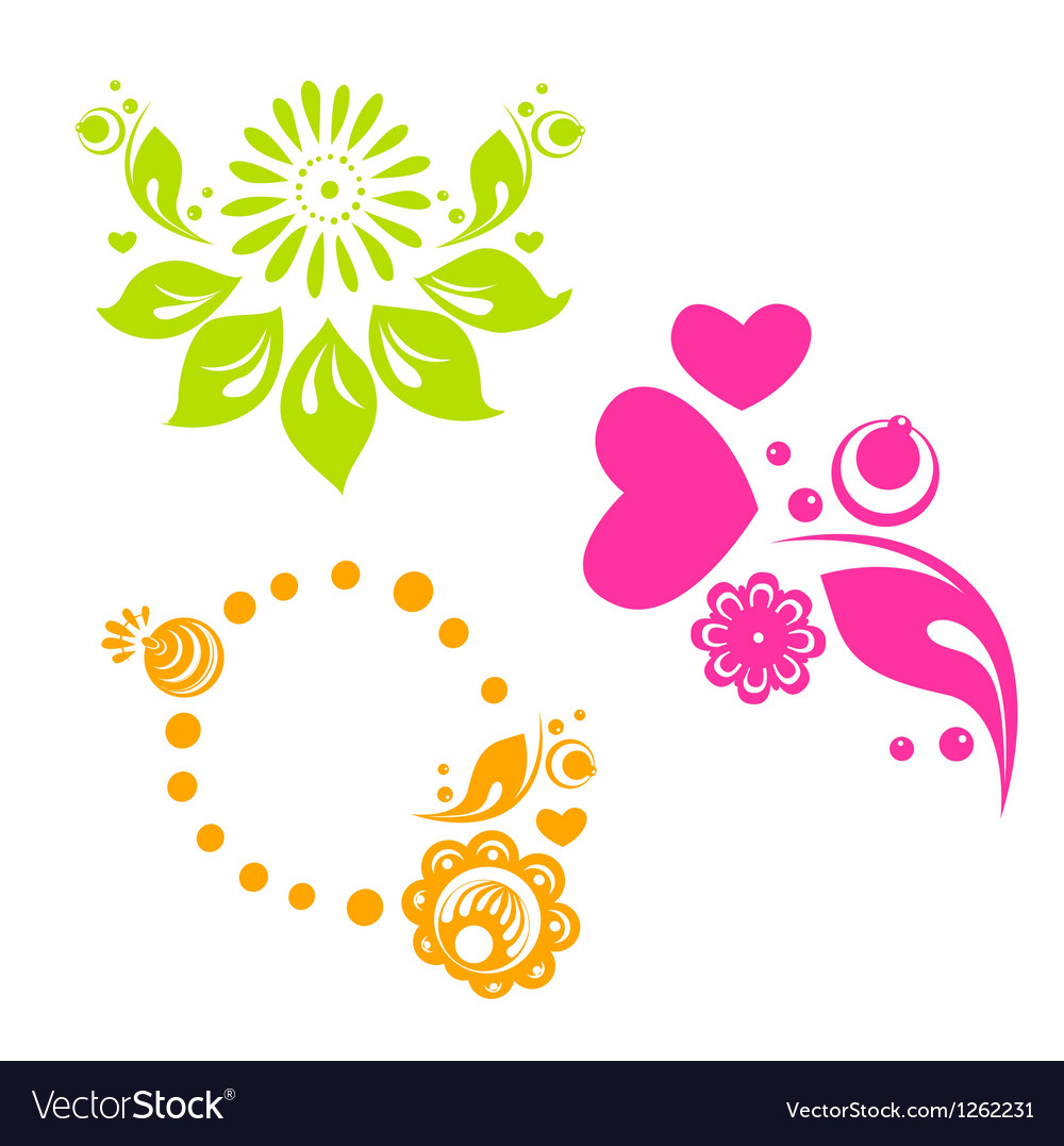 Russian style floral designs vector   Price: 1 Credit (USD $1)