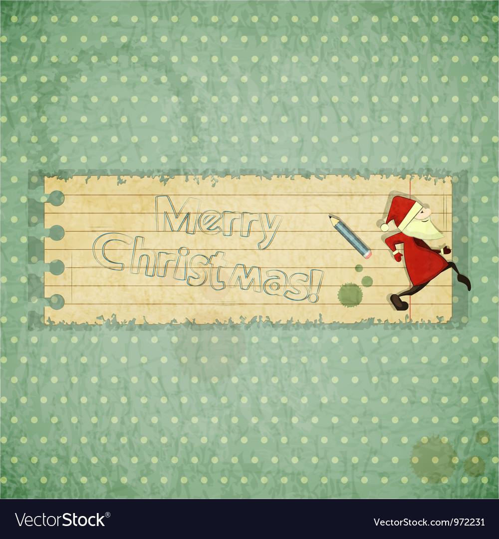 Santa sneaks vector   Price: 1 Credit (USD $1)