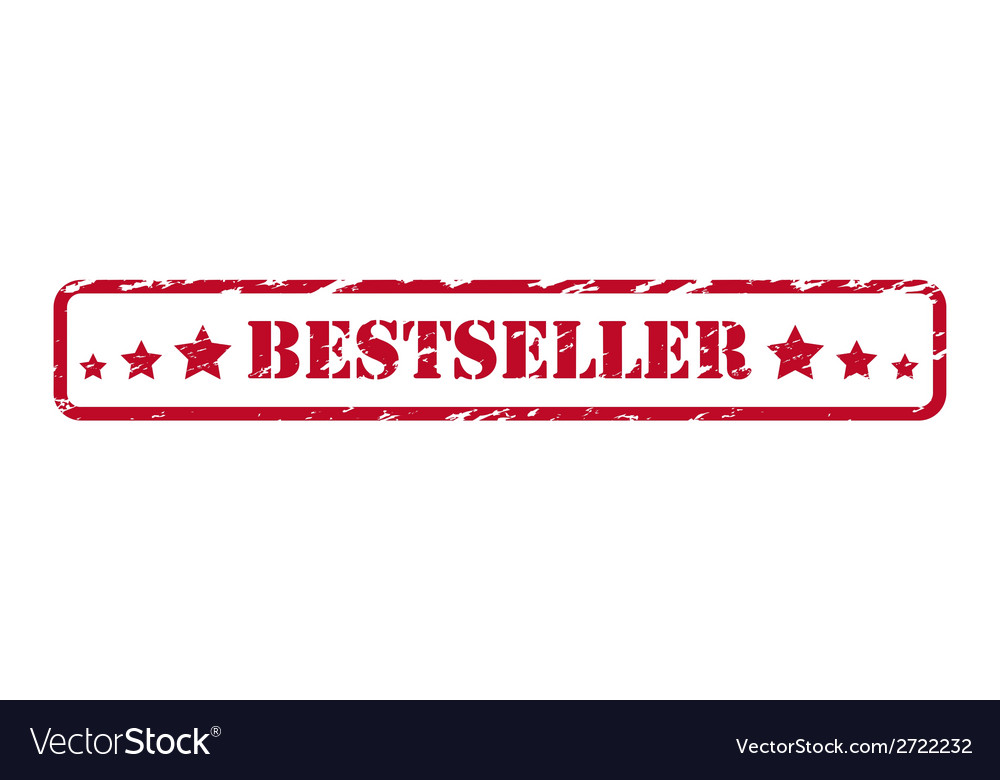 Bestseller rubber stamp vector | Price: 1 Credit (USD $1)