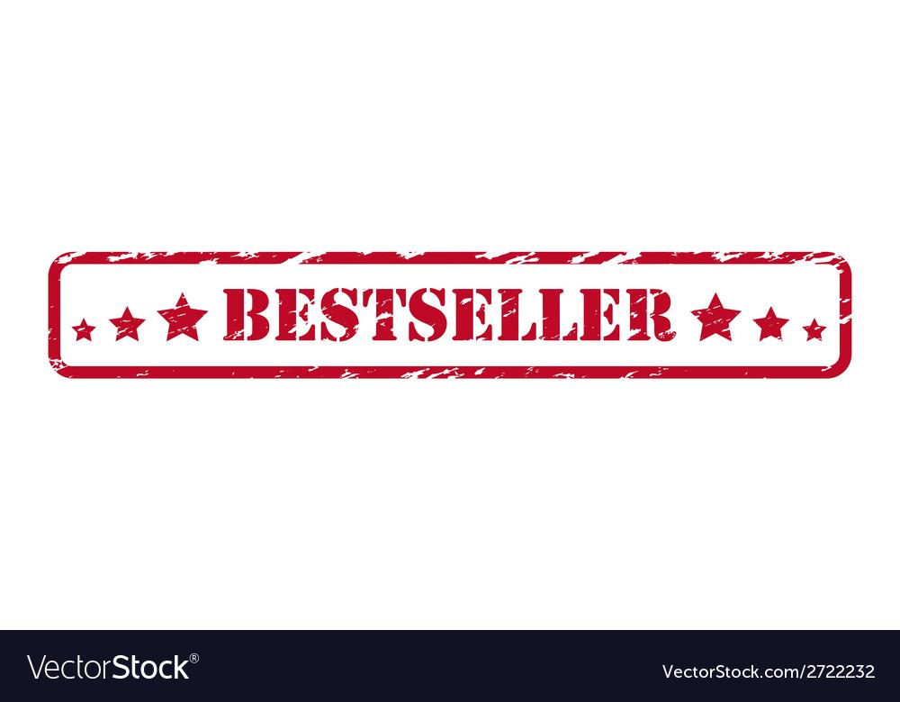 Bestseller rubber stamp vector | Price: 1 Credit (USD $1)