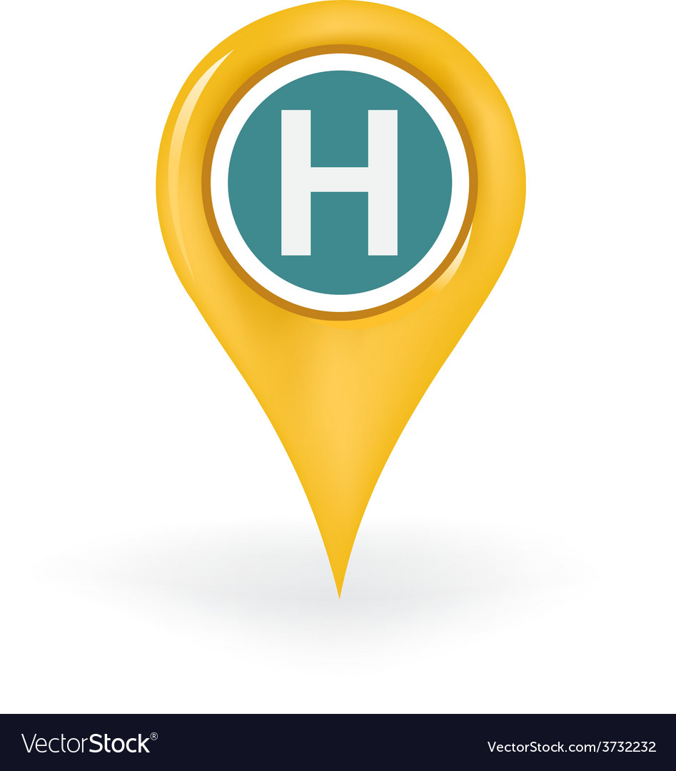 Hospital location vector | Price: 1 Credit (USD $1)