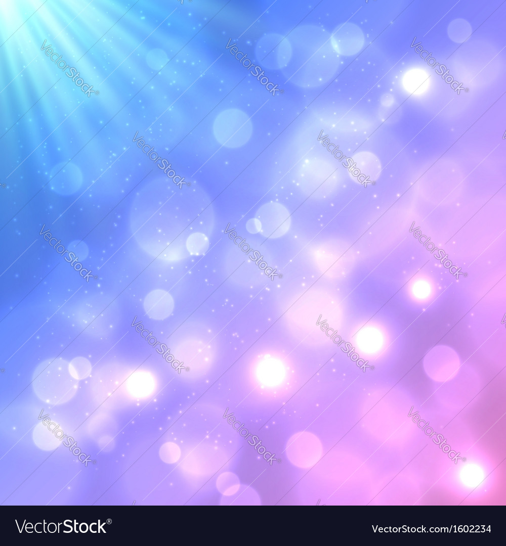 Bright colorful bokeh effect background vector | Price: 1 Credit (USD $1)
