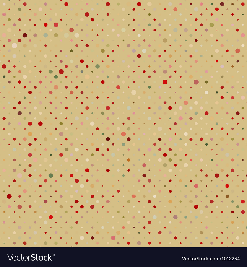 Brown canvas with polka dots eps 8 vector | Price: 1 Credit (USD $1)