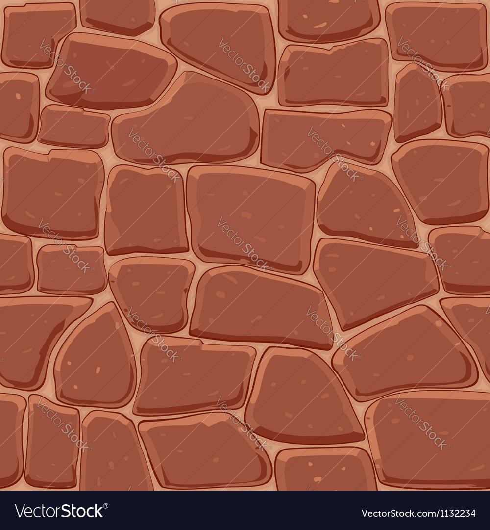 Brown stone seamless background vector | Price: 1 Credit (USD $1)