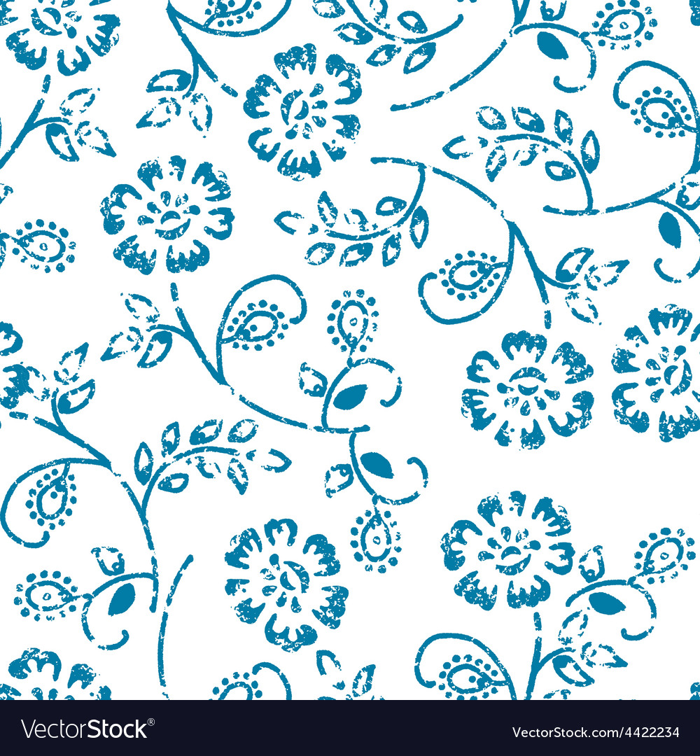 Grungy seamless pattern vector | Price: 1 Credit (USD $1)