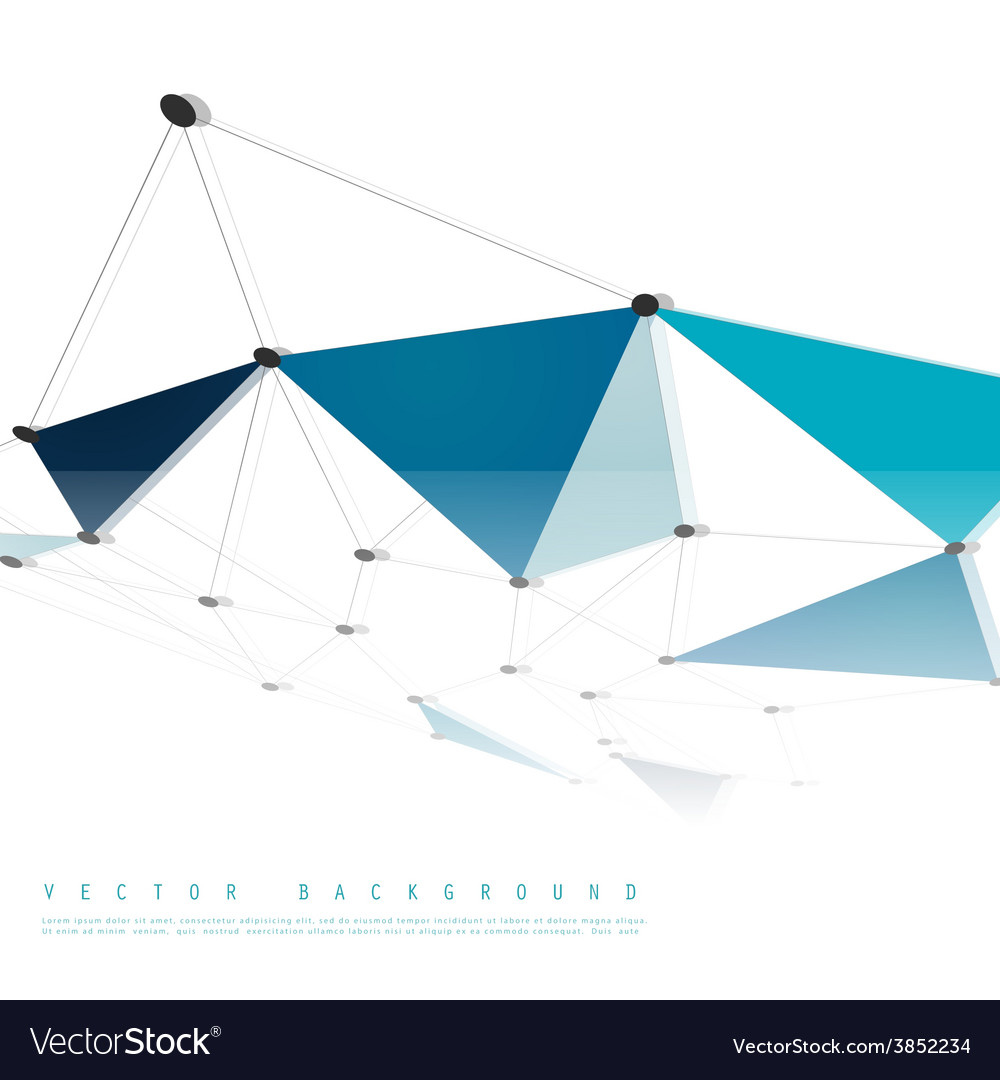 Network background abstract polygon vector | Price: 1 Credit (USD $1)