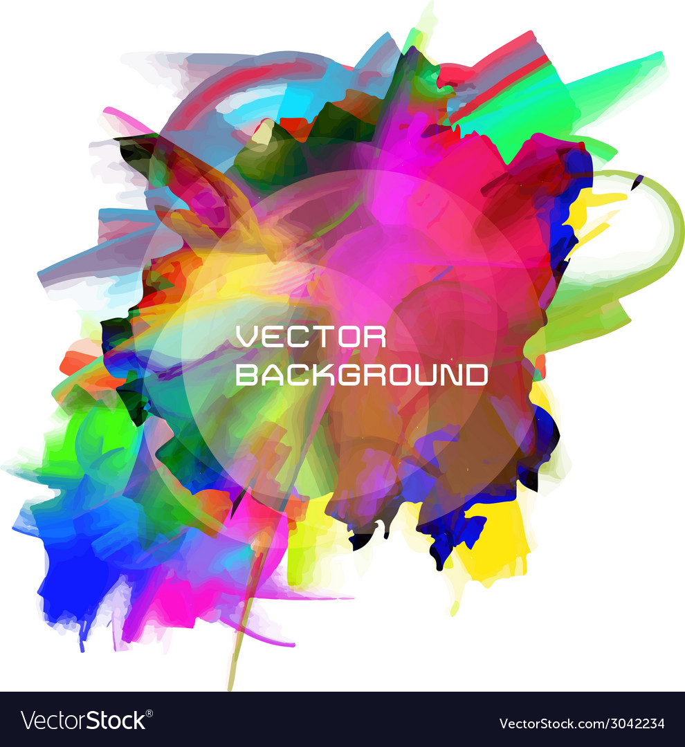 Oil painting background vector | Price: 1 Credit (USD $1)