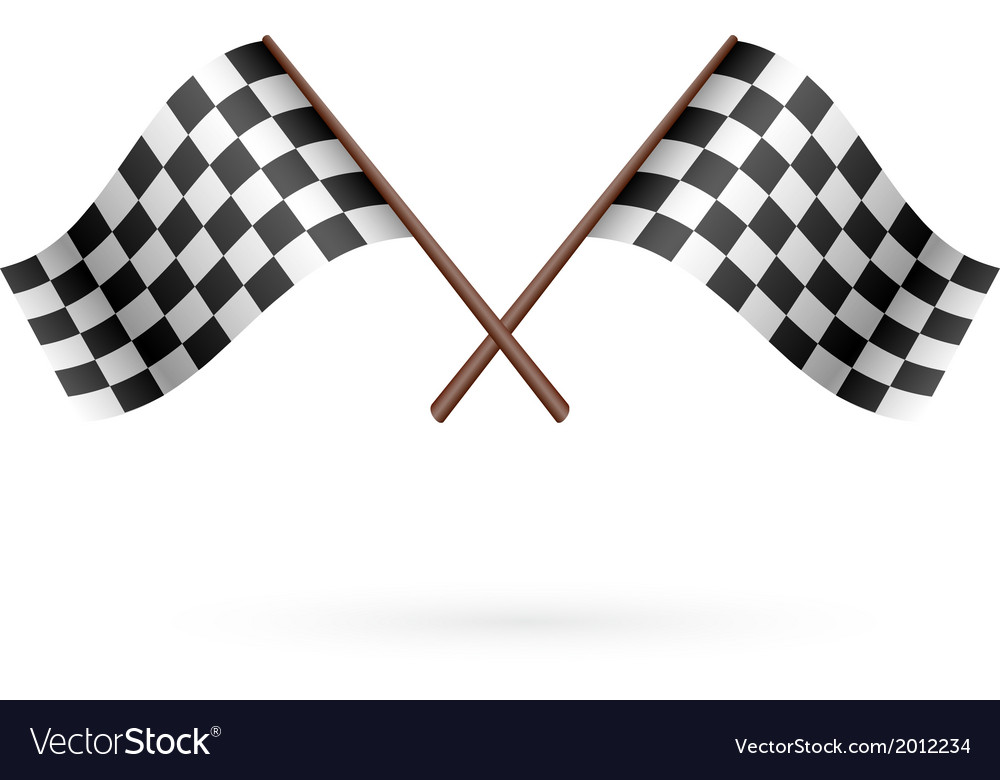Race flag icon vector | Price: 1 Credit (USD $1)
