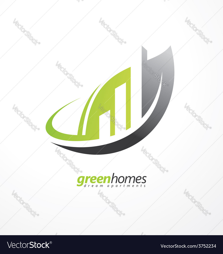 Real estate agency graphic design idea vector | Price: 1 Credit (USD $1)