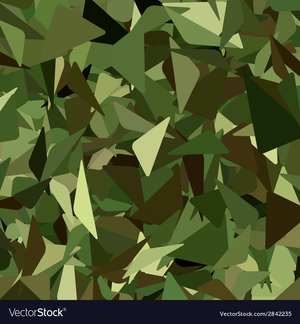 Abstract military camouflage background vector | Price: 1 Credit (USD $1)