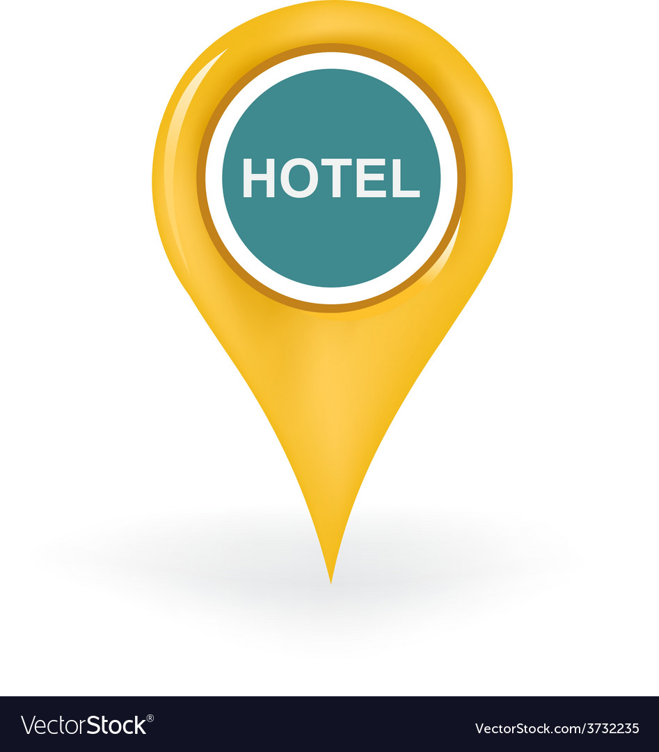 Hotel location vector | Price: 1 Credit (USD $1)