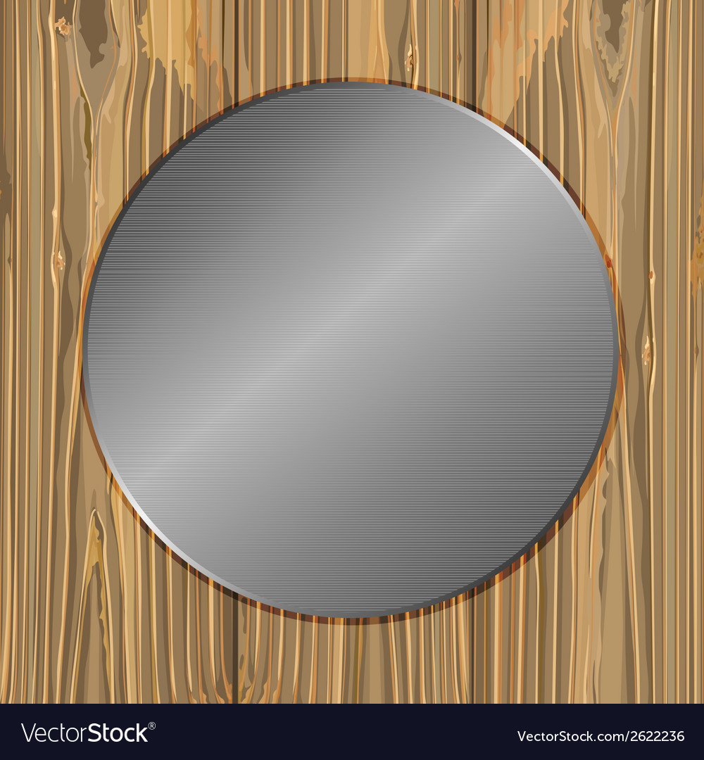 Circle on a planks vector | Price: 1 Credit (USD $1)