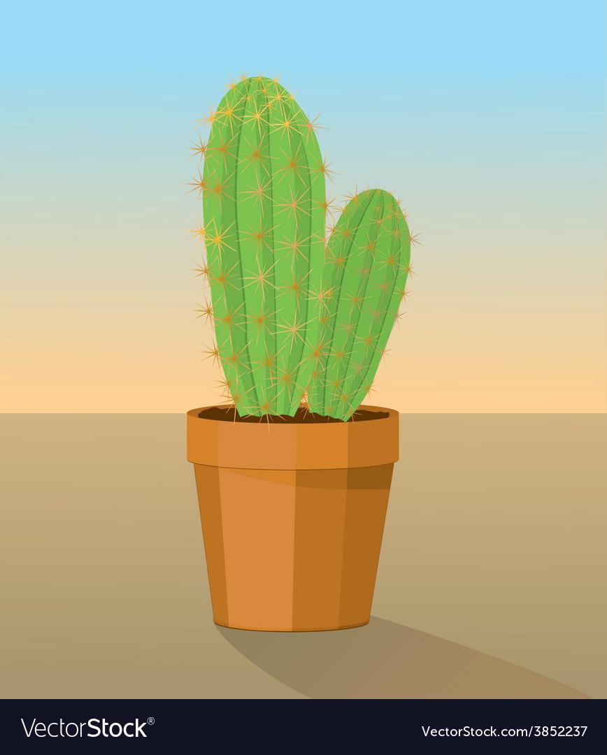 Cactus plant vector | Price: 1 Credit (USD $1)