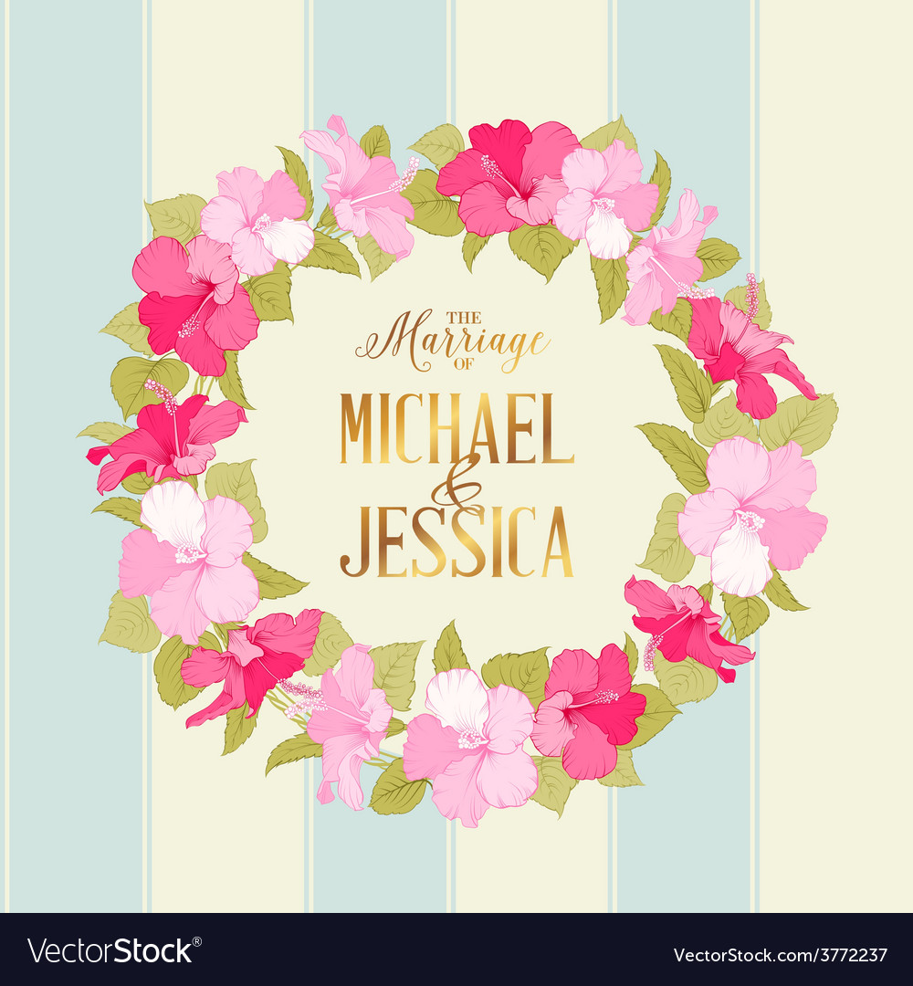 Marriage wreath vector | Price: 1 Credit (USD $1)