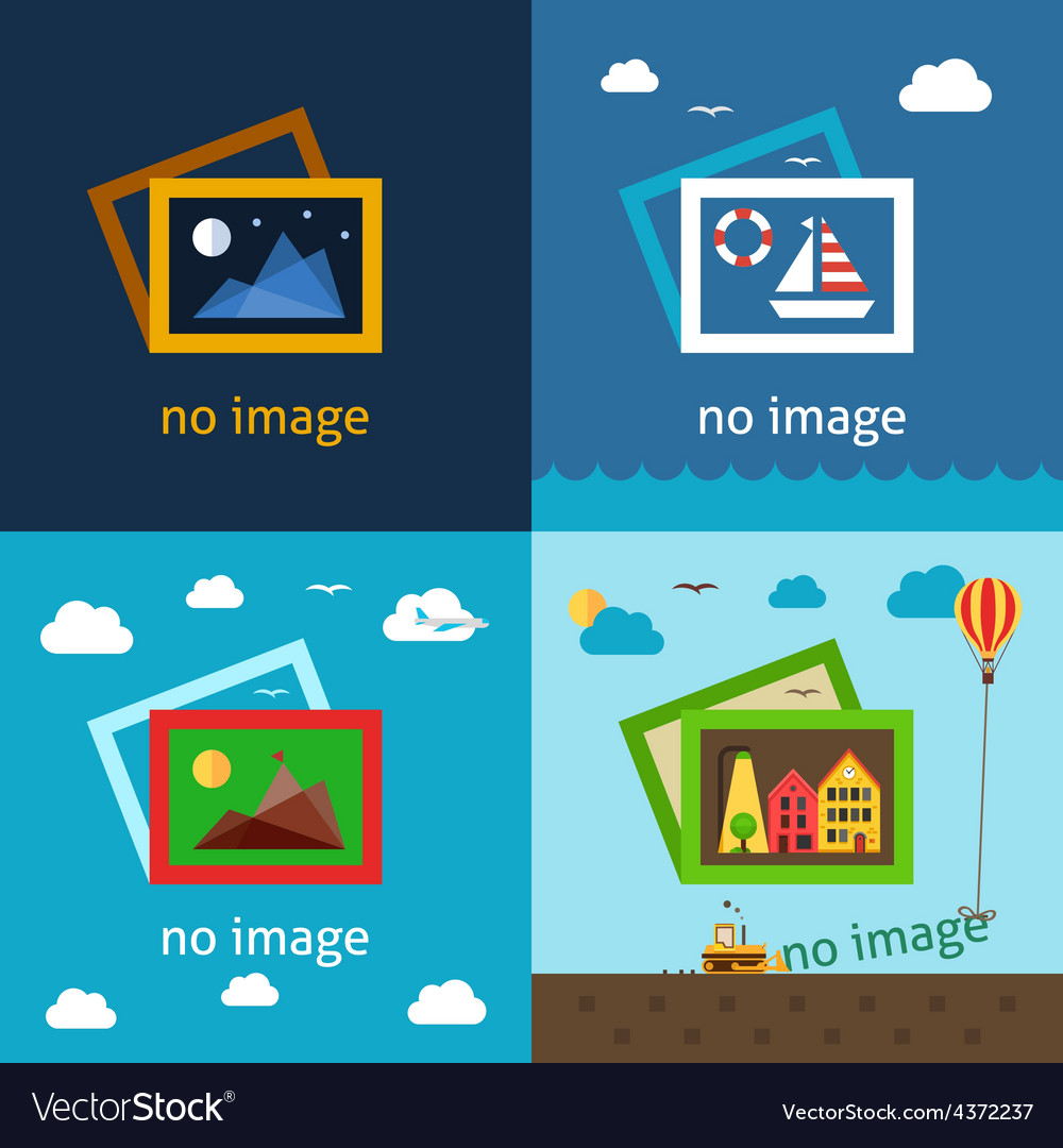 No image creative vector | Price: 1 Credit (USD $1)