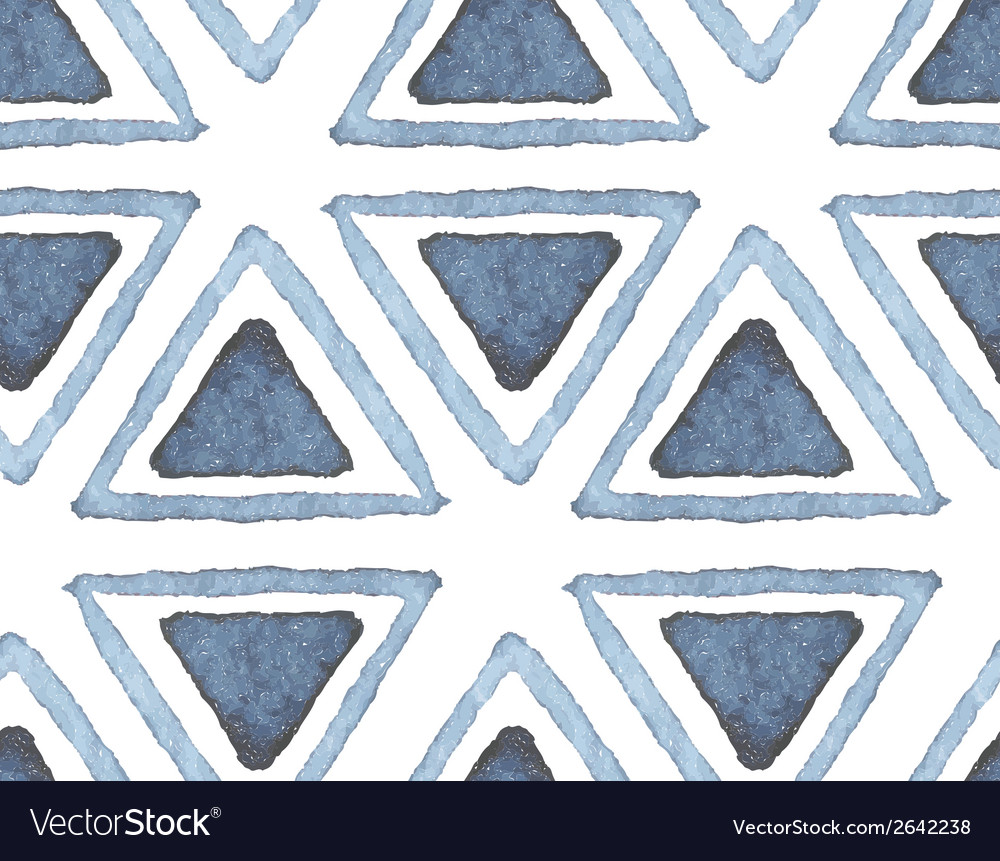Hand drawn watercolor seamless pattern vector | Price: 1 Credit (USD $1)