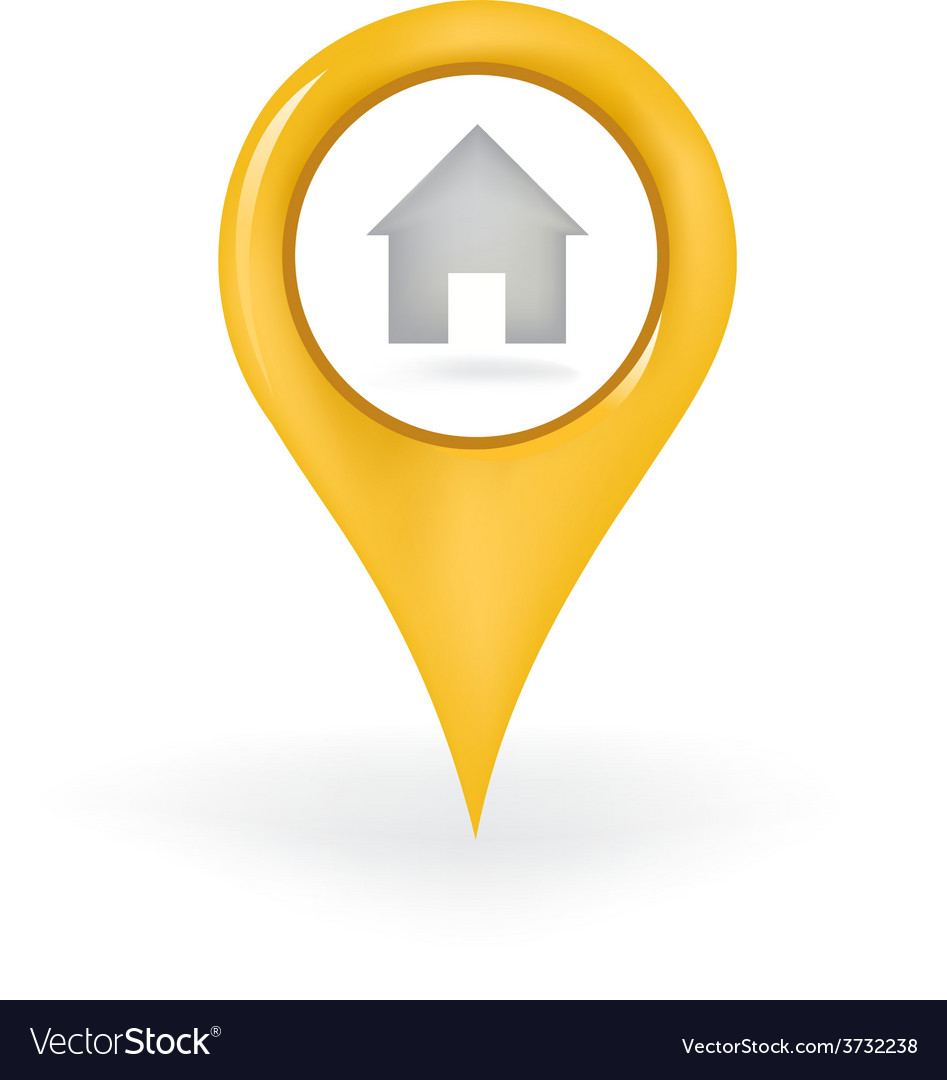 Home location vector | Price: 1 Credit (USD $1)