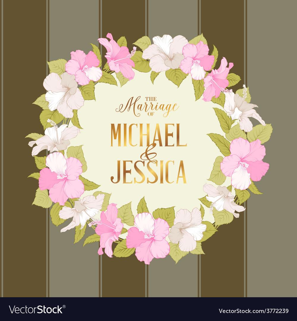 Marriage wreath vector | Price: 1 Credit (USD $1)