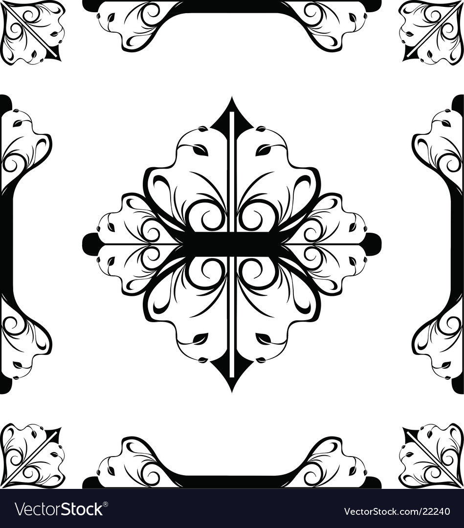Flourish vector | Price: 1 Credit (USD $1)