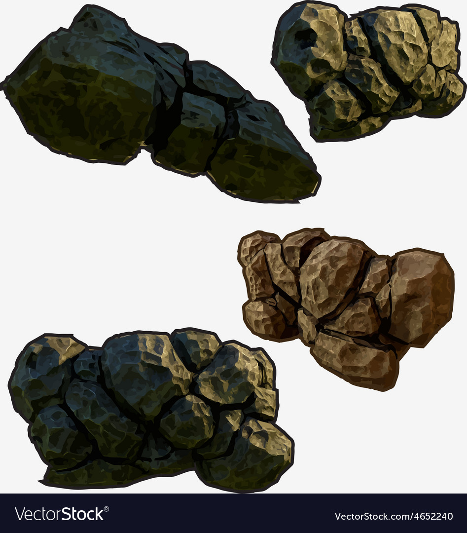 Stone astroid vector | Price: 1 Credit (USD $1)