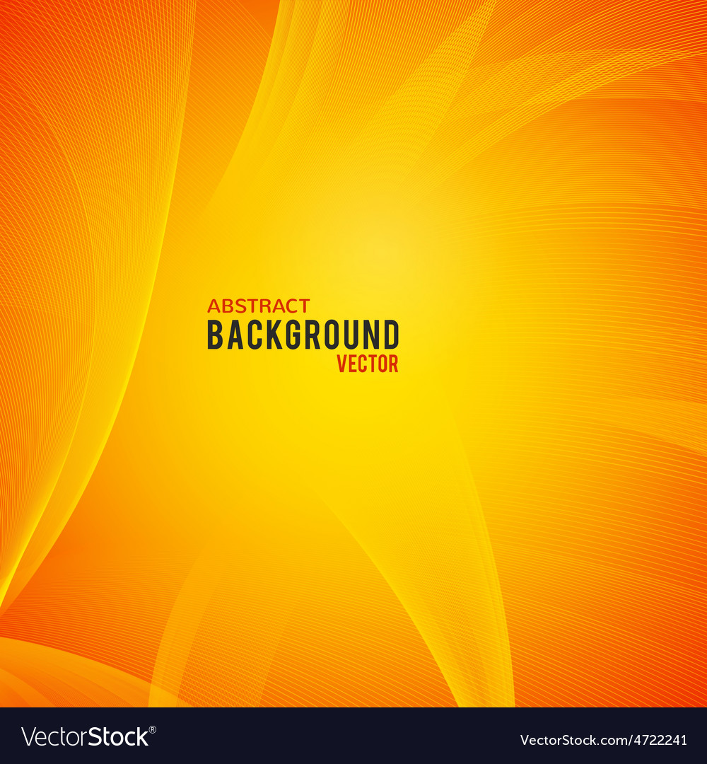 Abstract yellow and orange background vector   Price: 1 Credit (USD $1)