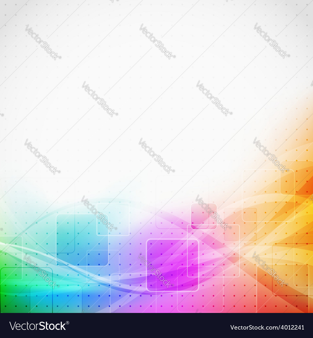 Bright modern abstract square tile background vector   Price: 1 Credit (USD $1)