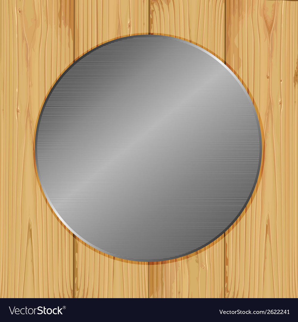 Circle on a wood vector | Price: 1 Credit (USD $1)